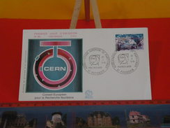 FDC > 1970-1979 > Recherche Nucléaire - 01 Prevessin - 22.10.1976 - 1er Jour. Coté 2,50 € - FDC