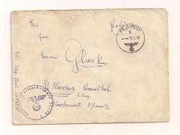 Feldpostbrief Samt Inhalt 18.5.1943 Von FP-Nr. 26960 F Nach St. Marien B. Linz Ostmark - Covers & Documents