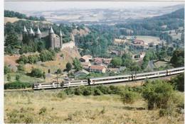 CPM Le Rail Ussellois N° 102 BB 9449 Et 9476 ... Scans Recto Verso, Explications Au Dos De La Carte - Trenes