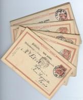 LDR6B- ALLEMAGNE - ARCHIVE PITRAT LIVRES ANCIENS  PARIS - LOT DE 27 EP CP CIRCULEES DANS LES ANNEES 1888/91 - Allemagne