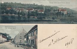 Gruss Aus Lutzelstein - Eisenwarenhandlung  Von Heinrich Brum  Correspondance Militaire 1918 - Autres Communes