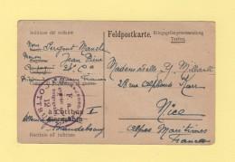 Cottbus - Camp De Prisonnier En Allemagne - Storia Postale