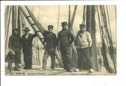 Oostende Ostende Groupe De Pêcheurs - Oostende