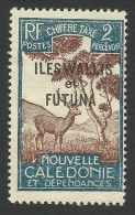 Wallis And Futuna, 2 C. 1930, Sc # J11, MH - Unused Stamps
