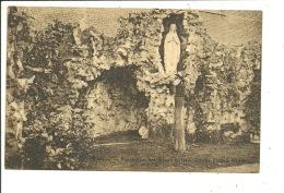 Wervicq Wervik Pensionnat Des Soeurs Grises Grotte Dans Le Jardin - Wervik