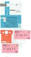 SABENA. Lot 3 Cartes D'Accès à Bord & 1 Enveloppe - Réponse  De Satisfaction. - Instapkaart