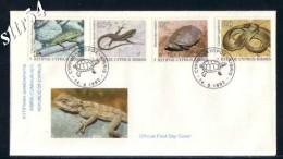 Cyprus FDC 1992 Cyprus Serpents - Chypre (République)