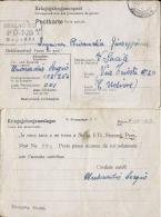 CARTOLINA POW CAMP STALAG II-D STARGARD POLAND 1943 X SACILE CATTURA - 1900-44 Victor Emmanuel III