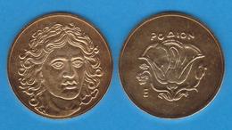 GRECIA ANTIGUA Estatera Rodion (Illa De Rodes) Siglo IV A.C. ORO  Réplica  DL-11.923 - Griegas