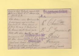 Dulmen - Camp De Prisonniers En Allemagne - Carte Photo - Guerre De 1914-18