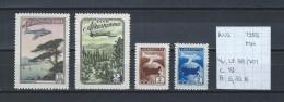 USSR Luchtpost 1955 - YT LP.98/101 Postfris Met Plakker/neuf Avec Charnière/MH