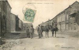 MONTHOIS GRANDE ROUTE - Francia