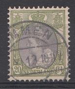Pays-Bas 1908 Mi.nr: 79 Königin Wilhelmina  Oblitérés / Used / Gestempeld - Gebraucht