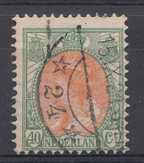 Pays-Bas 1920 Mi.nr: 98 Königin Wilhelmina  Oblitérés / Used / Gestempeld - Gebraucht