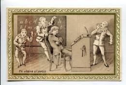 Maubeuge Alphabet Pierrots - Trade Cards