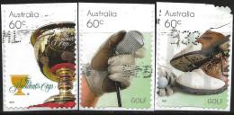 Australia 2011 Michel 3615 3616 3617 Used Booklet - 2010-... Elizabeth II