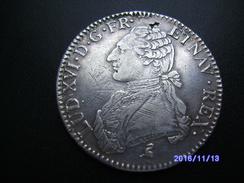 LOUIS Xvi ECU AUX BRANCHES D'OLIVIER 1789 PARIS   ANNÉE DE LA RÉVOLUTION - 987-1789 Royal