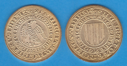 Pedro III Rey De Aragon Y Sicilia 1.276-1.285 PIRRAL - Messina (1.283-1.285) Oro Réplica    DL-11.945 - Altre Monete Antiche