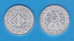 Juan I El Cazador Rey De Aragon 1.387-1.396 CORONAT Vellon Perpinya Replica   T-DL-11.947 - Antiguas