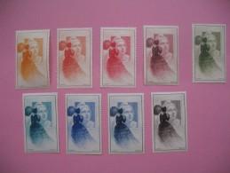 Lot De Vignettes De Marianne De Gandon - Cinderellas
