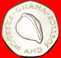 § HEPTAGON WITH SHELL: GHANA ★ 200 CEDIS 1998! LOW START★ NO RESERVE! - Ghana
