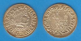 FERNANDO II De ARAGON Principat Oro Barcelona Replica  Réplica   T-DL-11.951 - Otras Piezas Antiguas