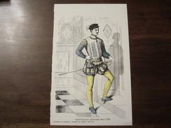 PUBLICITE MEDICALE ALPHAMIDE HISTOIRE DES COSTUMES A TRAVERS LES AGES ET LES PAYS GENTILLHOMME ALLEMAND VERS 1550 - Littérature
