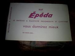 Publicite Buvard   Matela Epeda - G