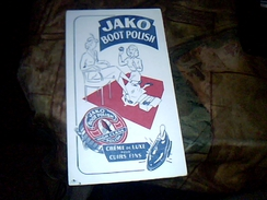Publicite Buvard Cirage Jako - Buvards, Protège-cahiers Illustrés