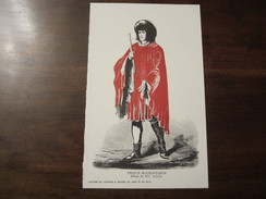 PUBLICITE MEDICALE BISMUTH BLAISE HISTOIRE DU COSTUME A TRAVERS LES AGES ET LES PAYS PRINCE BOURGUIGNON DEBUT DU XV SIEC - Literature