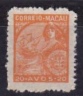 MACAU - 1913- CERES - AFINSA Nº 326 -  *** MNH - Macao