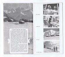 SWITZERLAND  - VALLESE -  BROCHURE / DEPLIANT - 1949/50 - Tourism Brochures