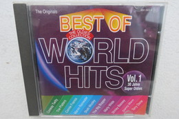 """CD """"Best Of World Hits"""" The Oldies Collection, 30 Jahre Super Oldies, Vol. 1 - Hit-Compilations"""