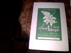 Publicite Buvard Sedatif Sirop Lactuarum Auberger - Buvards, Protège-cahiers Illustrés