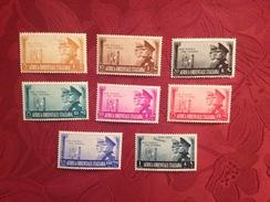 Serie Completa Africa Orientale Italiana Alleanza Italo-tedesca1941 NUOVA - Africa Oriental Italiana