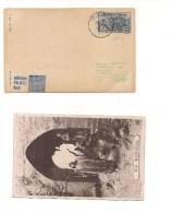 $3-4890 FRANCIA 1922 SOVRASTAMPATO SOVRAPREZZO GUERRE FIRMATO OLIVA - Storia Postale