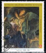 2008 - S.M.O.M. - MAESTRI DELLA PITTURA - USATO. - Sovrano Militare Ordine Di Malta
