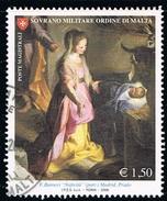 2006 - S.M.O.M. - MAESTRI DELLA PITTURA - USATO. - Sovrano Militare Ordine Di Malta