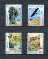 SAHARA OCC 1993 FAUNA BIRDS ANIMALS Set Of 4 MNH - Africa (Other)