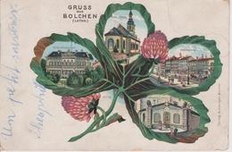57 - BOULAY - BELLE LITHO 4 VUES - Boulay Moselle