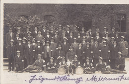 Foto Mierunsken Mieruniszki Oletzko Olecko Marggrabowa Ostpreussen  Deutsche Soldaten 1.Weltkrieg Jugend Kompanie - Ostpreussen