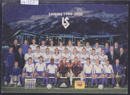 Lausanne : équipe Du Lausanne Sport En 1999-2000 (format 10 / 15) (14´331) - VD Vaud