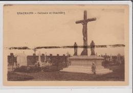 Carte Postale - BEAURAINS - Calvaire Et Cimetiere - Sonstige Gemeinden