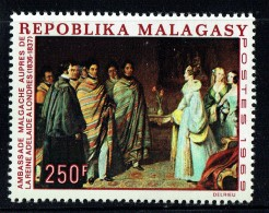 1969  Tableau «Ambassade Malgache Auprès De La Reine Adelaide à Londres 1836-7» ** - Madagaskar (1960-...)