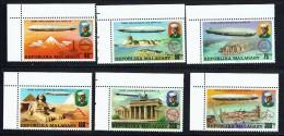 1976  75è Ann. Des Zeppelins  ** - Madagaskar (1960-...)