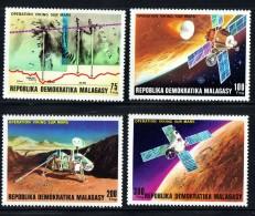1976   Opération Viking Sur Mars - Espace - Space *8 - Madagaskar (1960-...)