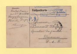 Hameln - Camp De Prisonniers En Allemagne - 1916 - Marcofilie (Brieven)