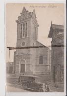 CPA - BILLY MONTIGNY - L'Eglise - Voiture Ancienne - Sonstige Gemeinden