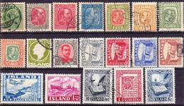 2016-0709 Lot 1 Iceland Used O - 1873-1918 Deense Afhankelijkheid