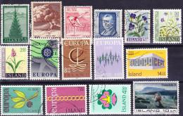 2016-0710 Lot 2 Iceland Used O - 1944-... Republik